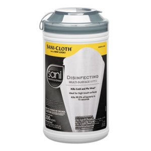 Sani-Cloth Disinfectant Wipes, 7.5 x 5.375, 1,200 Wipes (NICP22884CT)