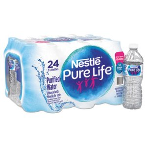 Nestlé Pure Life Purified Water, 16.9 oz Bottle, 24/Carton (NLE101264CT)