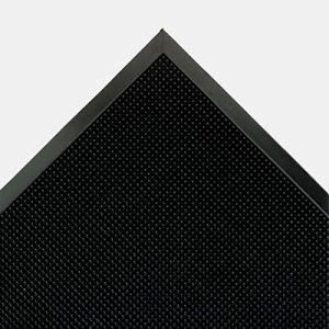 Crown Mat-A-Dor Entrance/Antifatigue Mat, Rubber, 36 x 72, Black (CWNMAFG62BK)