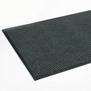 "Crown Super-Soaker Diamond Mat, Polypropylene, 45""x70"", Slate (CWNS1R046ST)"