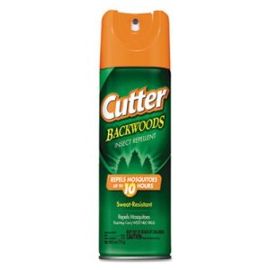 Cutter Backwoods Insect Repellent, 6-oz, 12 Cans (DVOCB962802)