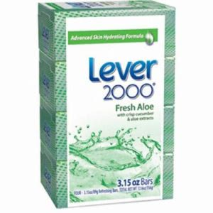 Lever 2000 Moisturizing Bar Soap, 48 - 3.15 oz. Bars (DVOCB327126)