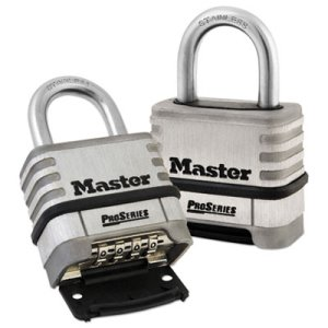 Master Lock ProSeries Stainless Steel Resettable Combination Lock (MLK1174D)