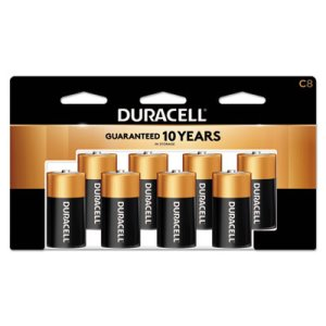 Duracell CopperTop® C-Batteries, 1.5 Volt, 8 Batteries (DRC MN14RT8Z)
