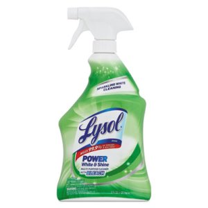 Lysol Anti-Bacterial With Bleach Spray, 12 Spray Bottles (REC 78914)