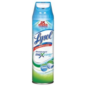 Lysol Disinfectant Mist, Garden After Rain, 15-oz Aerosol, 12 Cans (RAC94122)
