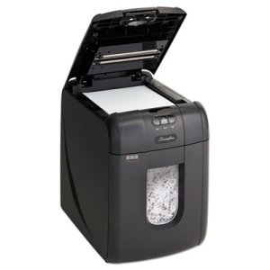 Swingline Stack-and-Shred Shredder, 100 Sheet Capacity  (SWI1757571)