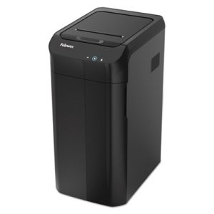 Fellowes AutoMax 550C Auto Feed Shredder, 550 Sheet Capacity, Black (FEL4963001)