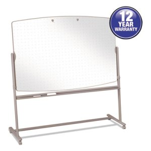 Quartet Reversible Mobile Presentation Easel, Dry-Erase, 72 x 48, White/Neutral (QRT3640TE)