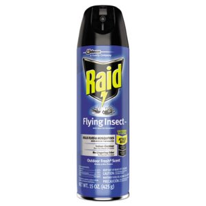 Raid Flying Insect Killer, 12 Aerosol Cans, 12 Cans (SJN617717)