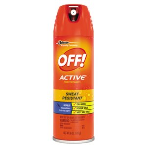 Off! ACTIVE Insect Repellent, 6 oz Aerosol, 12/Carton (SJN629349)