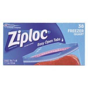 Ziploc Double Zipper 1 Quart Freezer Bags, 342 Bags (SJN665255)