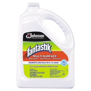 Fantastik General Purpose Cleaner, Pleasant Scent, 4 Gallons (SJN682269)
