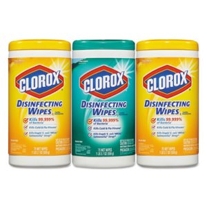 Clorox Disinfecting Wipes, Fresh & Citrus, 3 Pack (CLO30208PK)