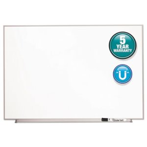 Quartet Magnetic Dry Erase Board, Painted Steel, Aluminum Frame (QRTM4831)