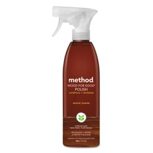 Method Wood Polish, Liquid, 12 oz, Almond Scent, 1 Each (MTH00086)