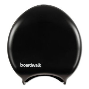 Boardwalk Single Jumbo Jr.Toilet Paper Dispenser, Black (BWK1519)