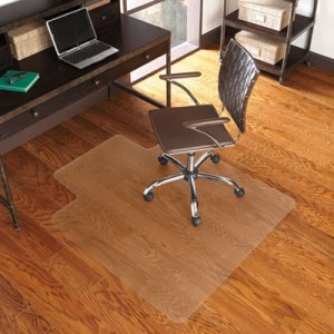 "ES Robbins EverLife Chair Mat for Hard Floors, 36"" x 48"", Clear (ESR131115)"