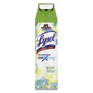 Lysol Max Cover Disinfectant Mist, Brighter Horizon, 15 oz, 6 Cans (RAC97170)