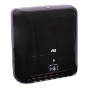 Tork Matic Hand Towel Roll Dispenser, Intuition Sensor, Black, Each (TRK5511282)