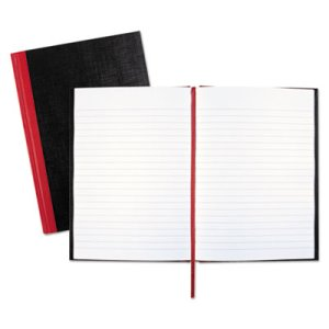 Casebound Notebook, Ruled, 8-1/2 x 5-7/8, White, 96 Sheets/Pad (JDKE66857)