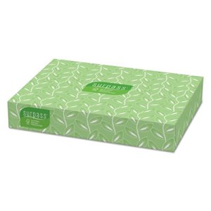 Surpass Facial Tissue, 2-Ply, White, 30 Flat Boxes (KCC 21340)