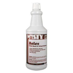 Misty Bolex 23 Percent Hydrochloric Acid Bowl Cleaner, 12 Cans (AMR1038799)