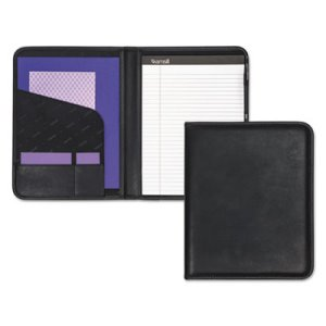 Samsill Pad Holder, Storage Pockets/Card Slots, Writing Pad, Black (SAM70810)