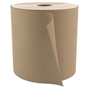 Cascades PRO 800 ft Brown Hard Roll Paper Towels, 10 Carton Bundle (CSDH085BDL)