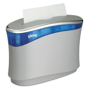 Kleenex Reveal Countertop Folded Towel Dispenser, Gray/Blue (KCC51904)