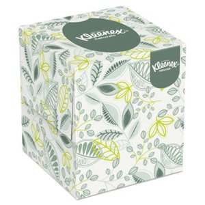 Kleenex 21272 Softblend Naturals Facial Tissues, 36 Boxes (KCC 21272)