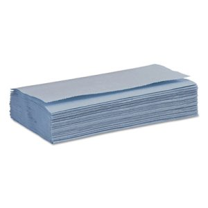 Boardwalk Windshield Paper Towels, Unscented, Blue, 250/PK, 9 Packs (BWK6191)