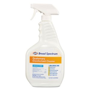 Clorox Broad Spectrum Disinfectant Cleaner, 9 - 32-oz. Spray Bottles (CLO 30649)