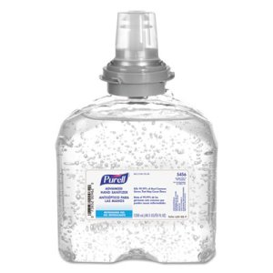 Purell TFX Advanced Hand Sanitizer Gel, 4 Refills (GOJ545604CT)