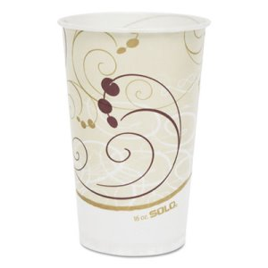 Symphony 16-oz. Wax-Coated Paper Cold Cup, 1,000 Cups (SCC RW16SYM)