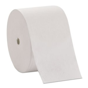 Compact Coreless Toilet Paper, 2-Ply, White, 36 Rolls (GPC19375B)