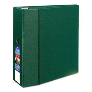 "Avery Heavy-Duty Binder with One Touch EZD Rings, 5"" Capacity, Green (AVE79786)"