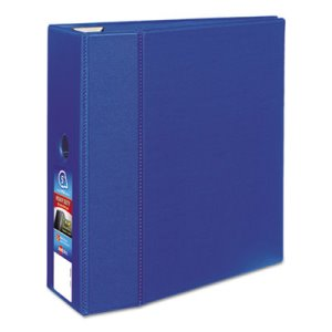 "Avery Heavy-Duty Binder with One Touch EZD Rings, 5"" Capacity, Blue (AVE79886)"