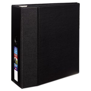 "Avery Heavy-Duty Binder with One Touch EZD Rings, 5"" Capacity, Black (AVE79986)"