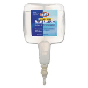 Clorox 30243 Touch Free Hand Sanitizer Refill, 1000 mL, 4 Refills (CLO30243CT)