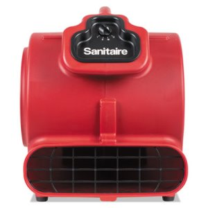 Sanitaire DRY TIME Air Mover, 3758 fpm, Red, 20 ft Cord (EURSC6056A)
