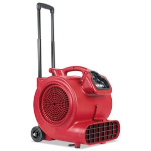 Sanitaire DRY TIME Air Mover w/Wheels & Handle, Red (EURSC6057A)