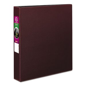 "Avery EZ-Turn Ring Reference 1 1/2"" Binder, 11 x 8-1/2, Burgundy (AVE27352)"