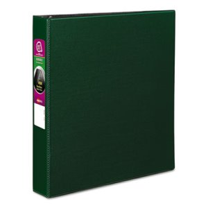 "Avery Durable EZ-Turn Ring Reference 1 1/2"" Binder, 11 x 8-1/2, Green (AVE27353)"