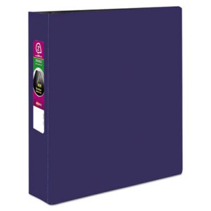 "Avery Durable EZ-Turn Reference Binder, 11 x 8-1/2, 2"" Capacity, Blue (AVE27551)"