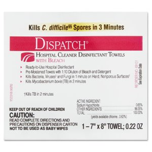 Clorox Dispatch Disinfectant Towels, 300 Towels CLO 69101