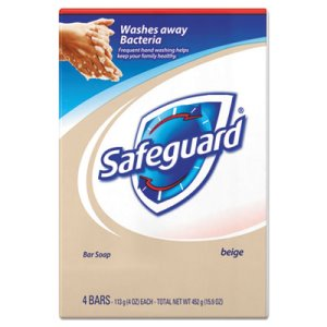 Safeguard 08833 Deodorant Bar Soap, 4-oz., 48 Bars (PGC08833)