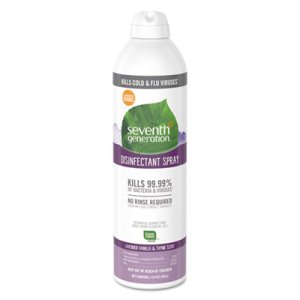 Seventh Generation Disinfectant Spray, Vanilla/Thyme, 13.9oz Can (SEV22979EA)