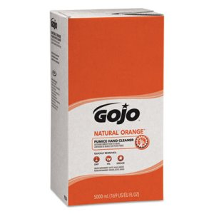 Gojo Orange Pumice Hand Cleaner Refill, 5000 mL, 2 Refills (GOJ7556)