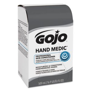 Gojo Hand Medic Professional Skin Conditioner, 6 - 500-ml Refills (GOJ8242)